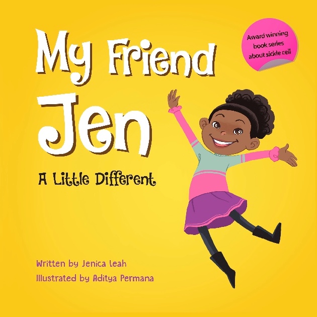 my friend jen series of sickle cell books