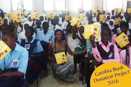 Sickle Cell Book Donation Gambia