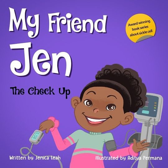 my friend jen sickle cell book series