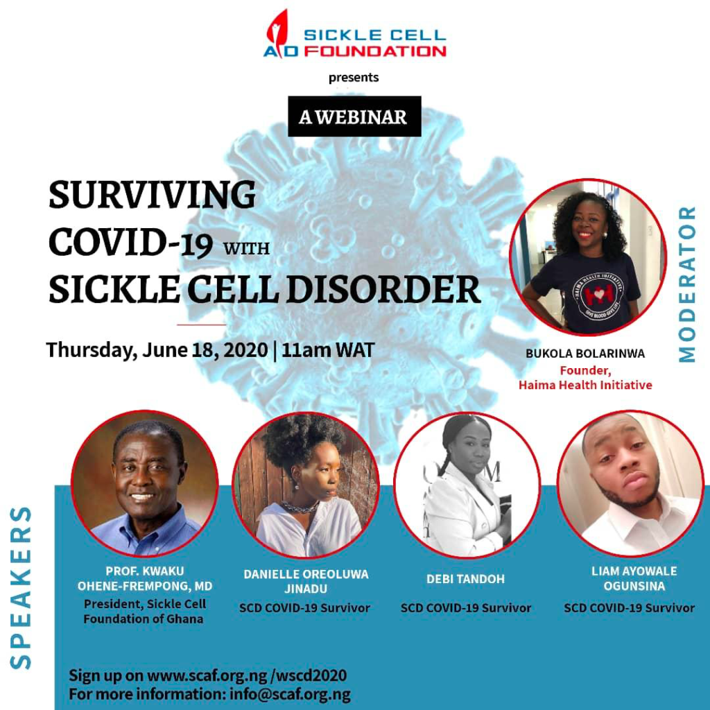 Surviving COVID-19 with Sickle Cell World Sickle Cell Day Event
