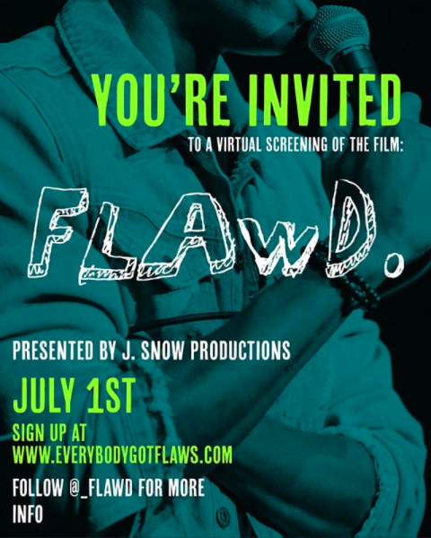virtual screening to watch FLAWD short film about sickle cell.