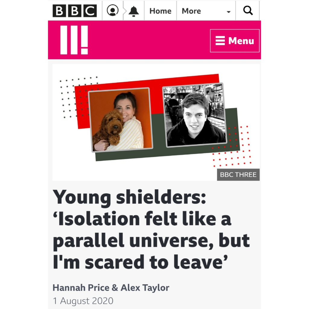 Young shielders: 'Isolation felt like a parallel universe, but I'm scared to leave'