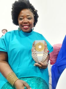 Award winner and Sickle cell warrior Nora Molongwe